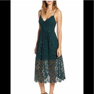 ASTR NWT Hunter Green Dress Size M